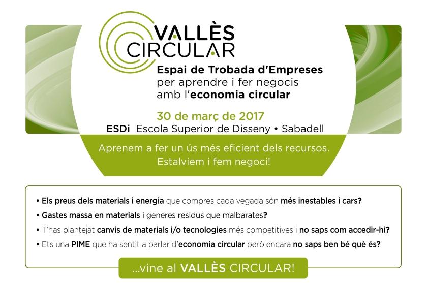 Jornada Vallès Circular - espai de trobada empresearial sobre economia circular